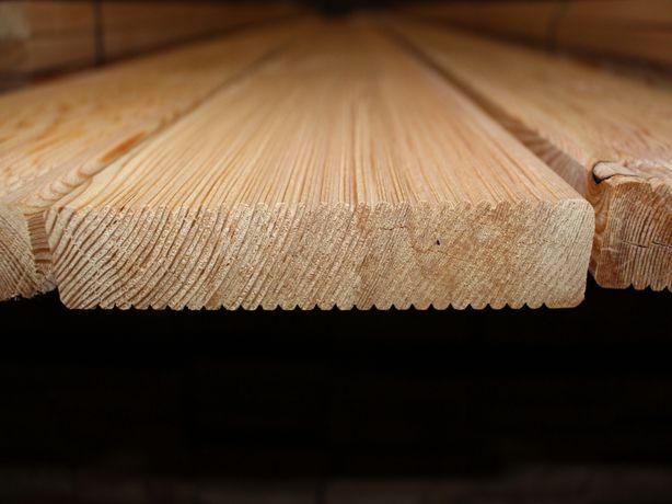 Deska tarasowa z modrzew syberyjski 27x143mm, jakość VEH-AB. Mikołów.