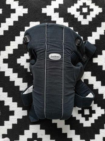 Nosidełko babybjorn używane grafitowe czarne nosidło