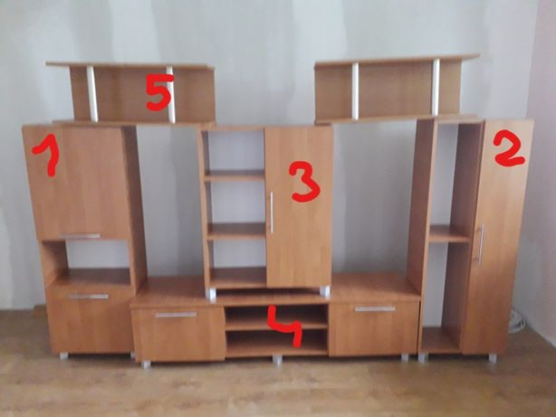 Meble pokojowe - zestaw szafek