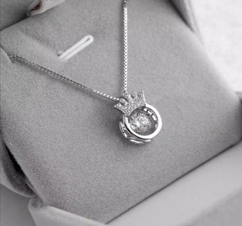 Naszyjnik celebrytki srebrny typu Pandora 925