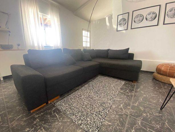 Vendo Sofá Chaise longue reversível com arrumação e cama