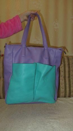 Женская сумка большая, вместительная, пляжная