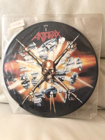 """Anthrax """"Bring the noise"""" 10inch Pic disc"""