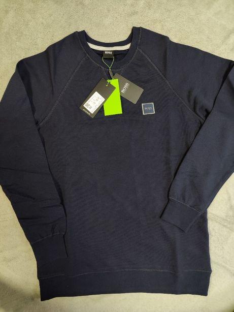 S- XXL Premium Hugo Boss Bluza granat Outlet Premium