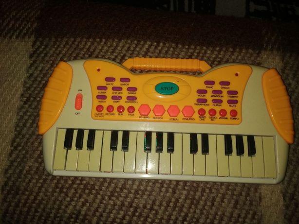 пианино мини синтезатор детское