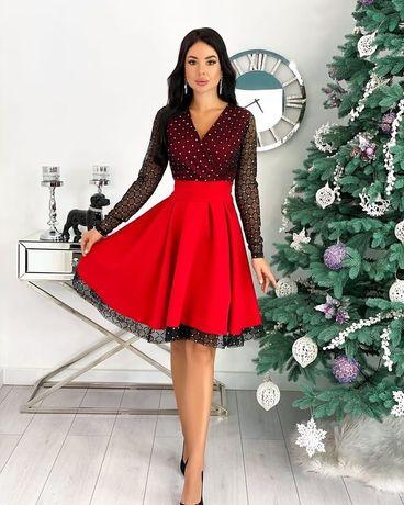 Платье 5 цветов. Нарядное платье. Вечернее платье