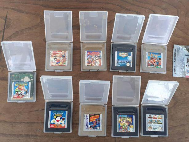 Jogos Originais de Nintendo Gameboy preços variados c/ caixa protetora
