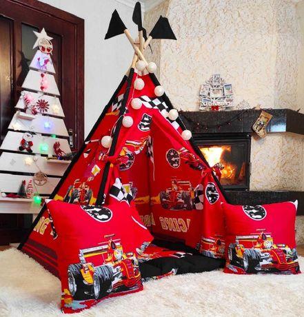 Вигвам детский палатка игровой домик Формула для мальчика  БОНБОН