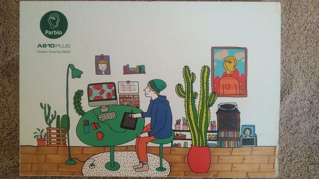 Pablo a610 plus графический планшет дизайн рисование