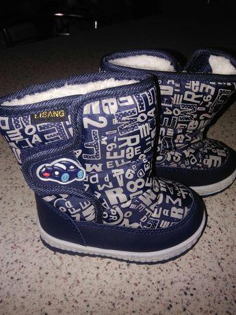 Дитячі чобітки-дутикі