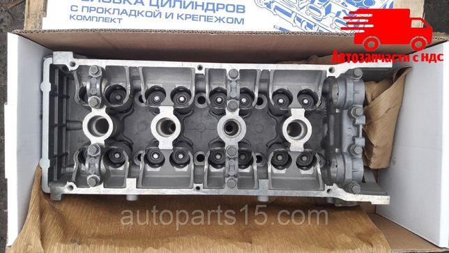 Головка блока ГАЗЕЛЬ двигатель 405, двигатель 409 три опоры (ЗМЗ)