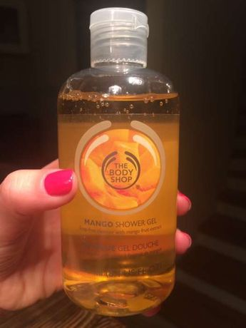 The Body Shop żel pod prysznic mango