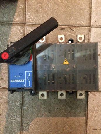 Schrack VCP4 rozłącznik używany włącznik wyłącznik super stan