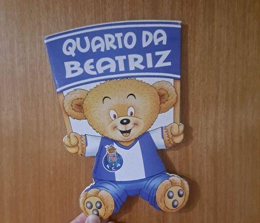 Autocolante de Porta/ Parede FC Porto NOVO com Selo De Autenticidade