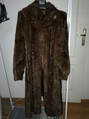 Sprzedam naturalne piękne futro-płaszcz z norek