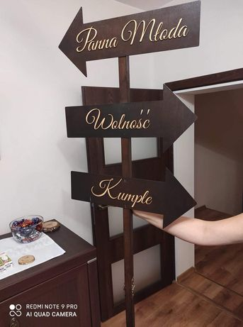 Drogowskaz weselny