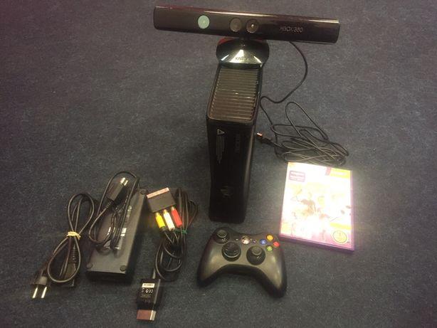Xbox 360 + Kinect + 8 дисков