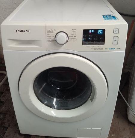 Entrega garantia máquina de roupa Samsung