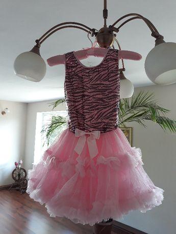Sukienka tiulowa dla dziewczynki