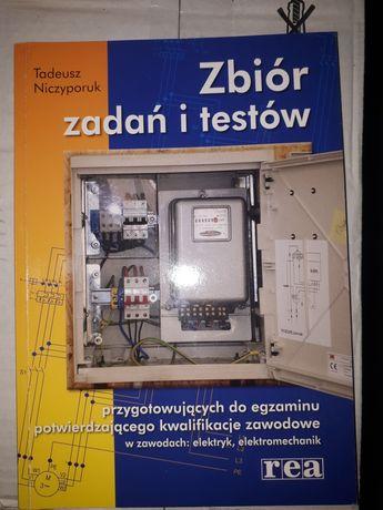 Zbiór  zadań  i testów   w zawodach   elektryk   wyd.Rea