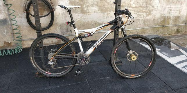 Bicicleta BTT Cannondale scalpel carbono suspensão total