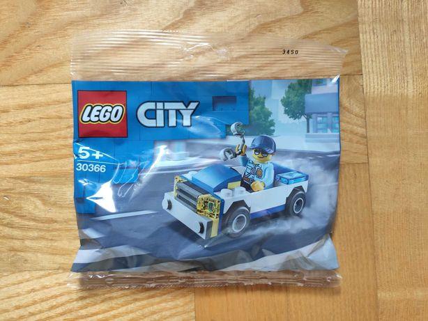 Klocki LEGO CITY Samochód policyjny 30366 NOWY