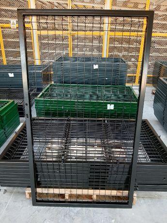 Solidna furtka panelowa 1,50m w komplecie monterskim