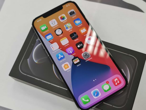 16.08.21! Iphone 12 PRO MAX 256GB/ Graphite/ GW12/ 100% oryginał