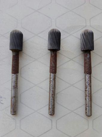 Борфрезы твердосплавные  сфероцилиндрические Ф 12мм
