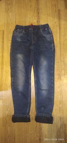 Тёплые джинсы на флизе!