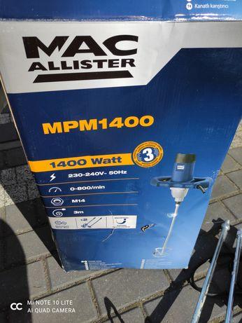 Mieszadło do kleju farb macallister 1400w MPM1400 Polecam