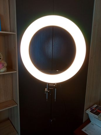 Лампа Кольцевая 46 см для бьюти мастеров для стрима видео свет