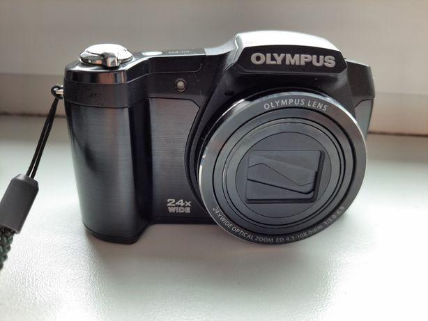 Aparat fotograficzny cyfrowy OLYMPUS SZ 17 plus etui