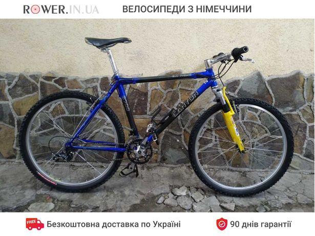 Карбоновий велосипед бу Canyon Extreme 6700 26 M6 вилка Rock Shox