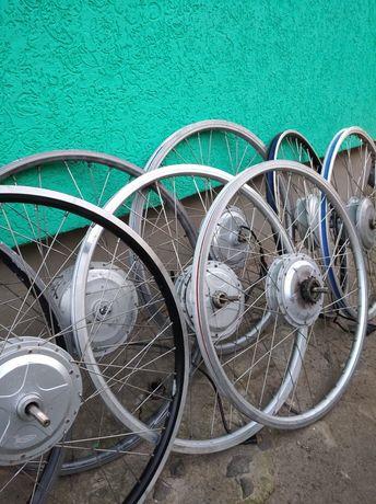 Мотор колесо,прямий привід