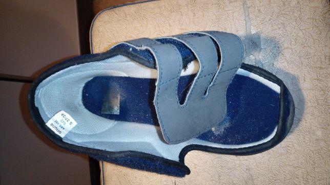 Ортопедический ботинок р 37-38 халюс вальгус обувь, косточка на пальце