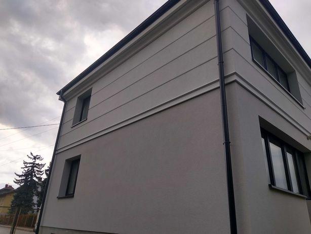 Ocieplanie elewacji...Imitacje deski...beton architektoniczny