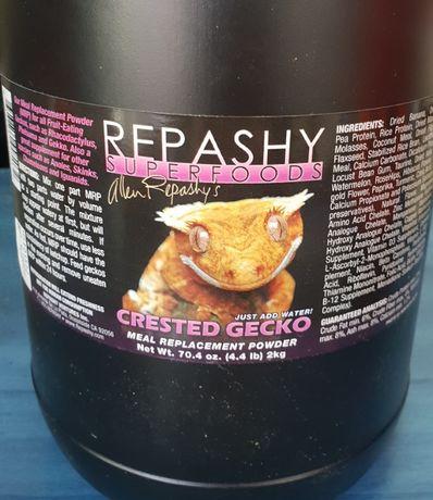 Repashy - najlepsza karma dla gekonów orzęsionych + gekony orzęsione