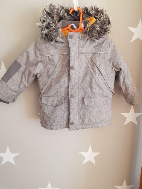 Komplet zimowy kurtka i spodnie roz 80