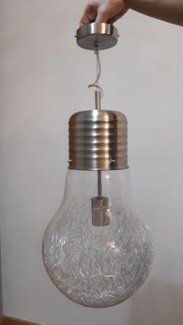 Żyrandol lampa sufitowa  żarówka
