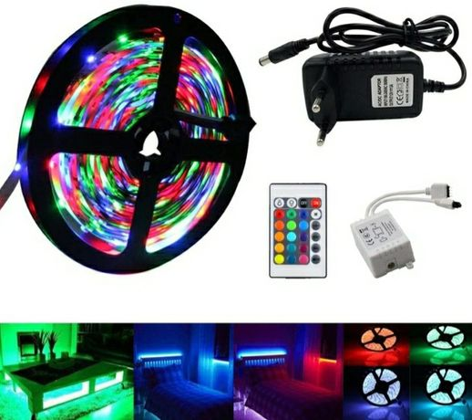 Fita Led RGB 5M *Kit Completo*