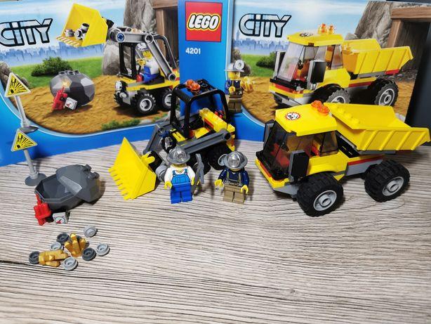 Lego City 4201 Ładowarka z wywrotką kompletny pudełko