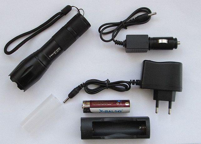 фонарик аккумуляторный