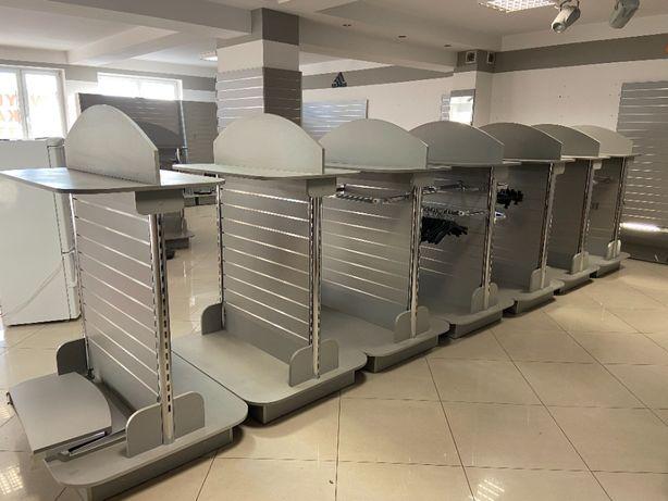 Kompletne wyposażenie sklepu 110m2 odzieżowo-sportowego