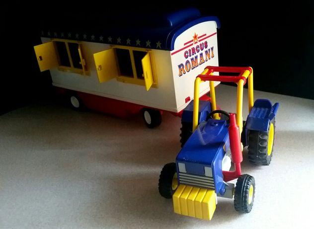 Playmobil ciągnik Circus Romani