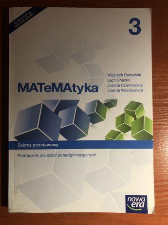 Podręcznik Matematyka 3 zakres podstawowy Nowa Era