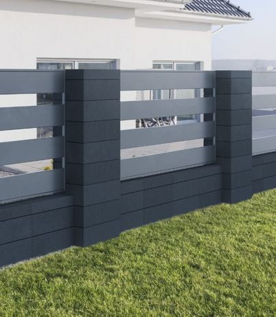 Pustak bloczek ogrodzeniowy ogrodzenie MODERN 60/40/20 Gladio
