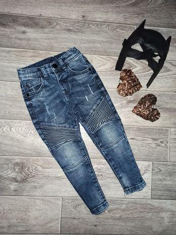 Плотные осенние джинсы DenimCo 2-3 года