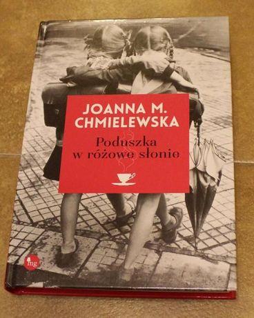 Książka - Poduszka w różowe słonie - J. Chmielewska