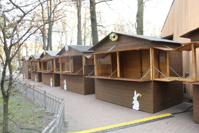 Domek drewniany handlowy, domki drewniane handlowe, stragan, altanka